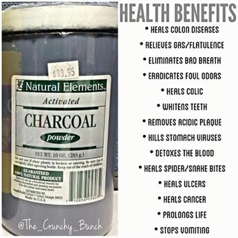 Pros and cons of activated charcoal detox
